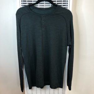 NWOT Lululemon| Metal Vent Tech Long Sleeve Henley